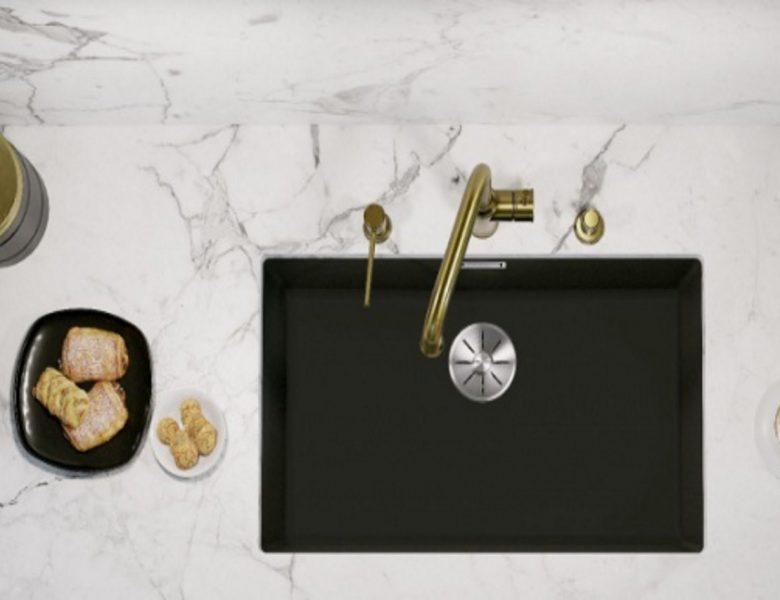 Elegancka kuchnia: czerń w roli głównej